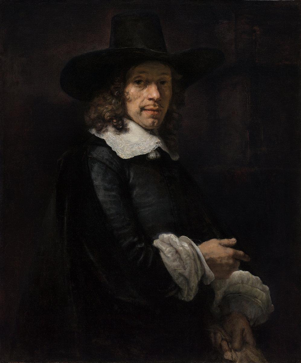 Print op hout, frans-van-schooten-rembrandt