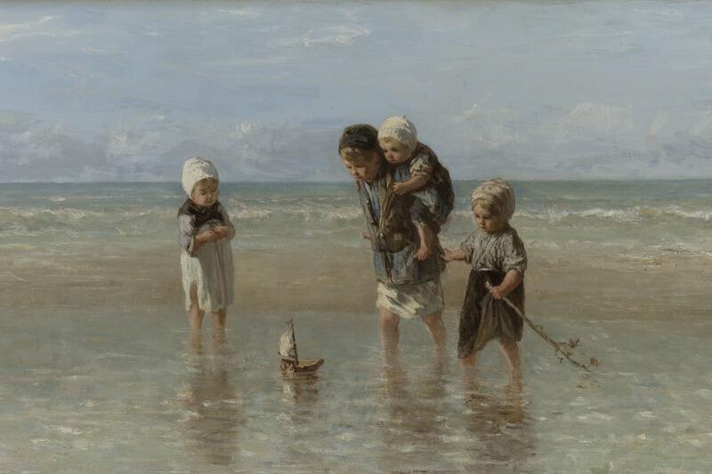 Print op hout, Kinderen der zee